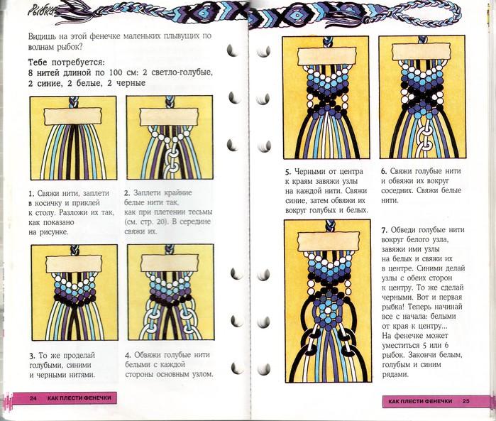 Как сделать фенечку прямым плетением - Kazan-avon